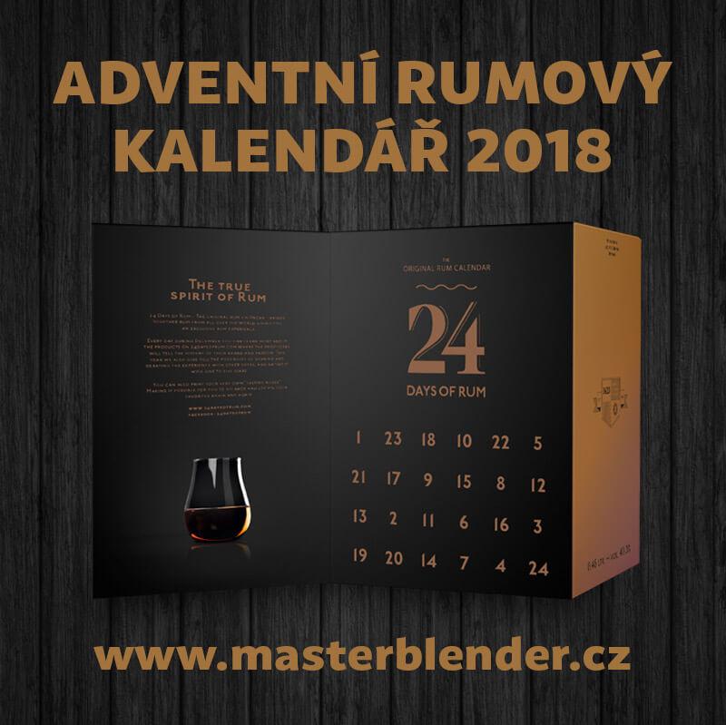 Adventní rumový kalendář 2018 - 24 days of rum - kalendář plný nejlepších rumů - masterblender.cz